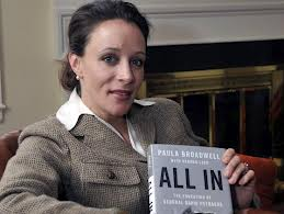 "Paula Broadwell and book ""All In"""