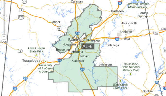 Alabama Sixth Congressional District