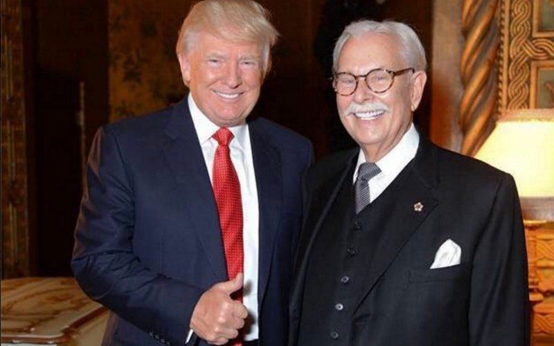 Donald Trump and longtime butler Anthony Senecal