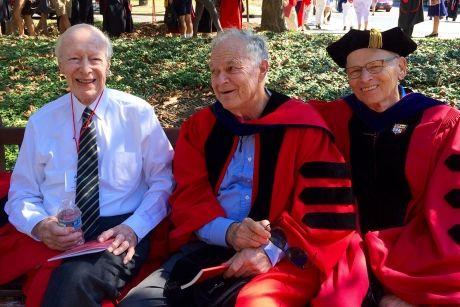 ustin Kiplinger, Harold Tanner, Peter Meinig (Valerie Kuramoto photo)