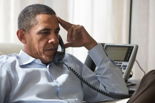 Barack phone security staff long distance from chilmark 8_15_13.jpg