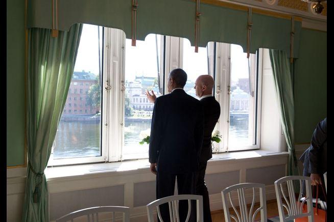 Barack Obama Reinfeldt 9-5-13