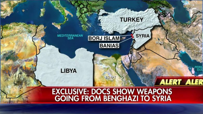 Benghazi Fox News arms smuggling Chart May 18, 2015