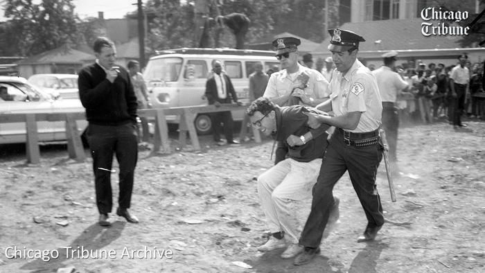 Bernie Sanders Arrested 1962 Chicago Tribune