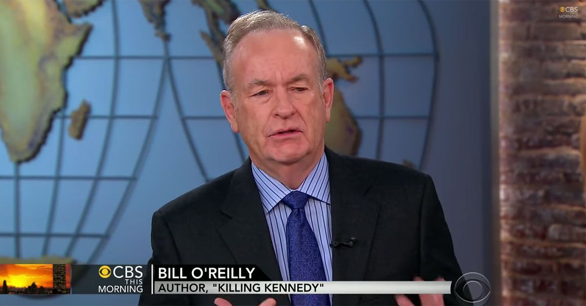 Bill O'Reilly CBS
