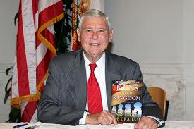 Bob Graham with Keys to the Kingdom