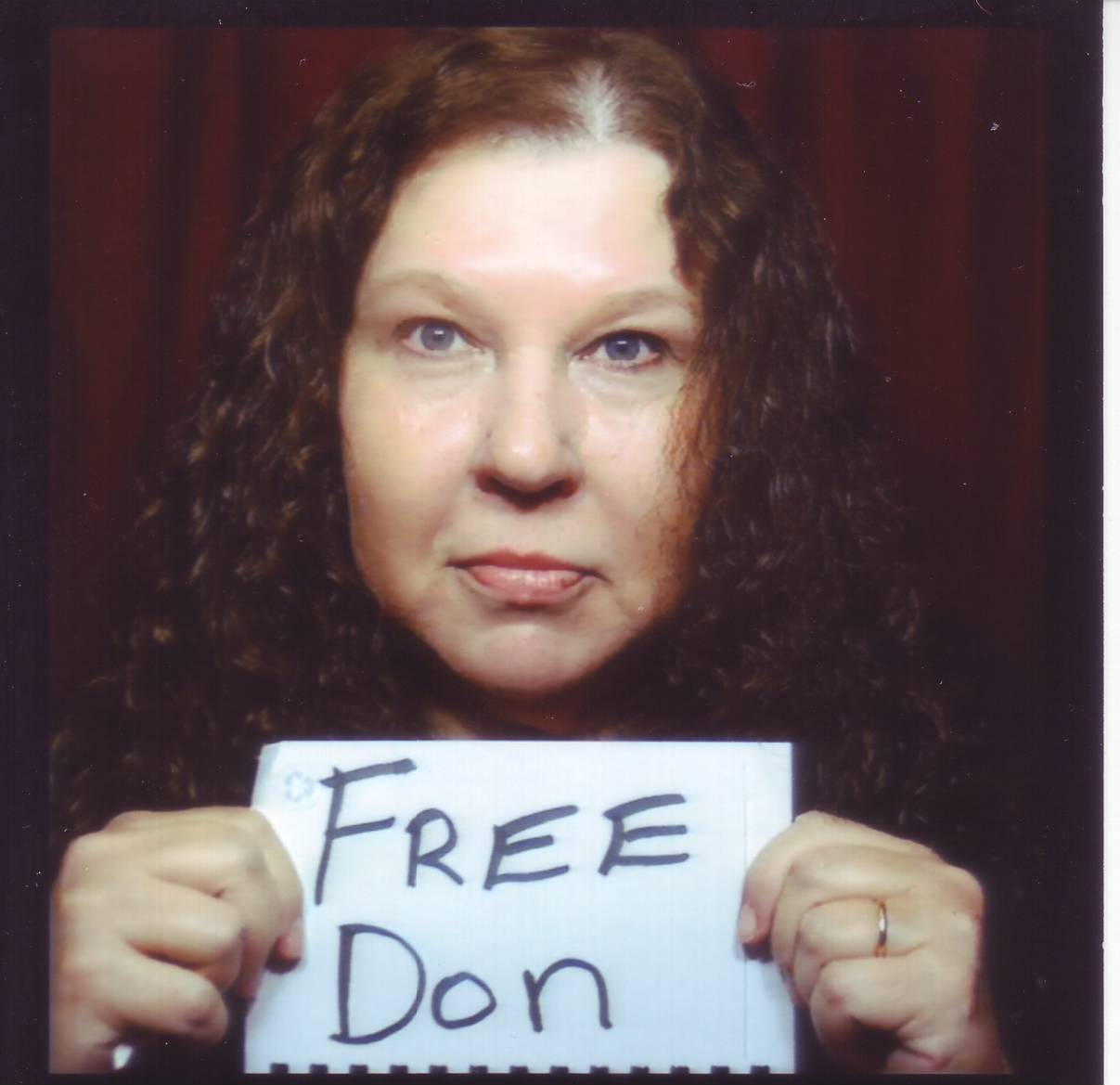 Pam Miles Free Don Sign
