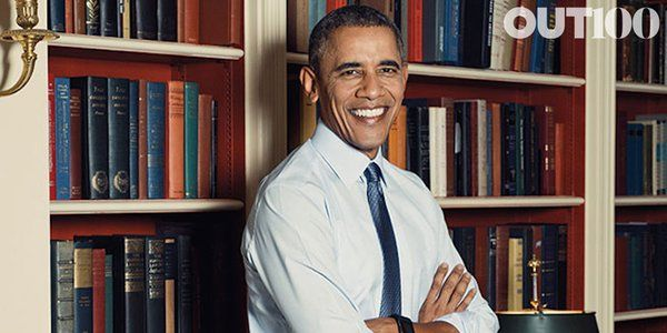 President Obama for OUT Magazine