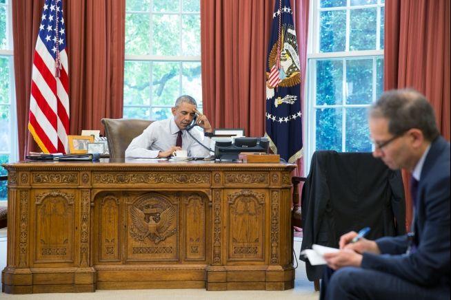 President Obama speaks on phone with Recep Tayyip Erdogan on June15, 2016
