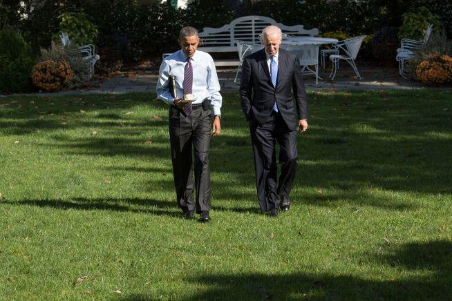 Barack Obama and Joe Biden, Oct. 14, 2013