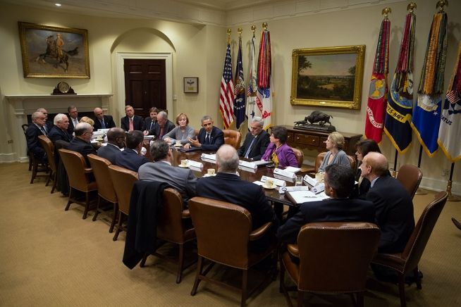 Barack Obama and Health CEOs