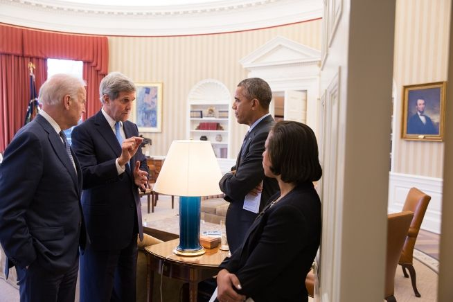 President Obama, John Kerry, Joe Biden, Susan Rice, 3_9_2015