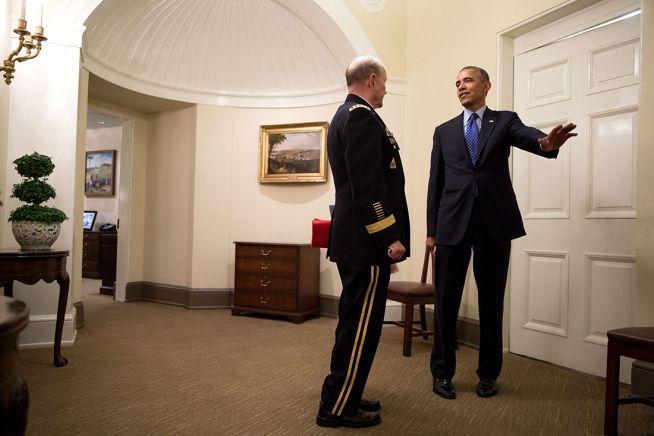 Barack Obama and Martin Dempsey June 19, 2014