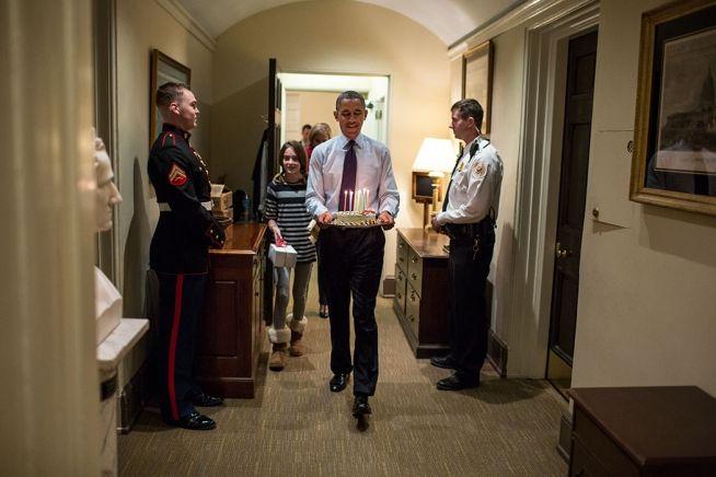 Barack Obama_Denis_McDonaugh_Daughter Dec. 2, 2013