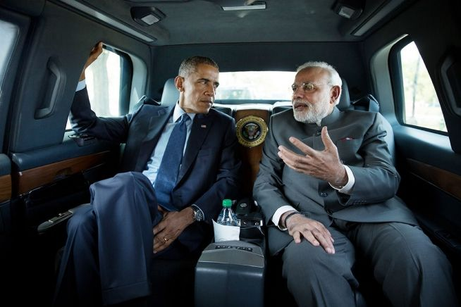 Barack Obama and India Prime Minister Narendra Modi Sept. 30, 2014jpg