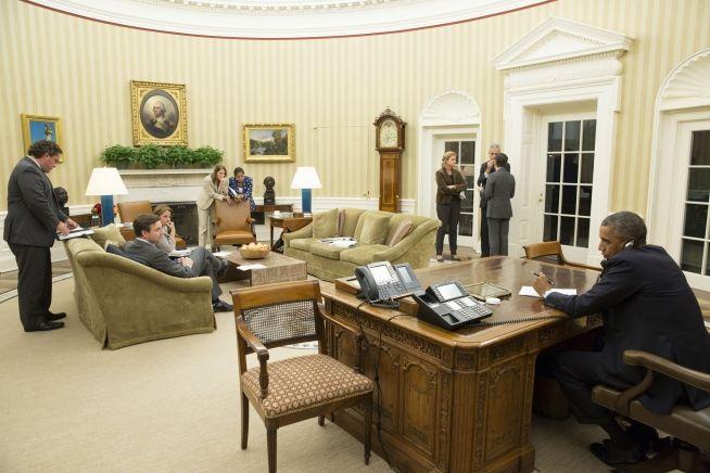 Barack Obama, calls Rick Perry on Ebola responses Oct. 16, 2014