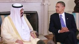 Barack Obama and Saudi King Abdullah White House June 29, 2010
