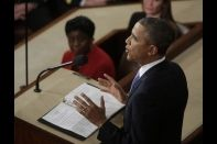 President Obama State of the Union Jan. 28, 2014 rearview WH Photo