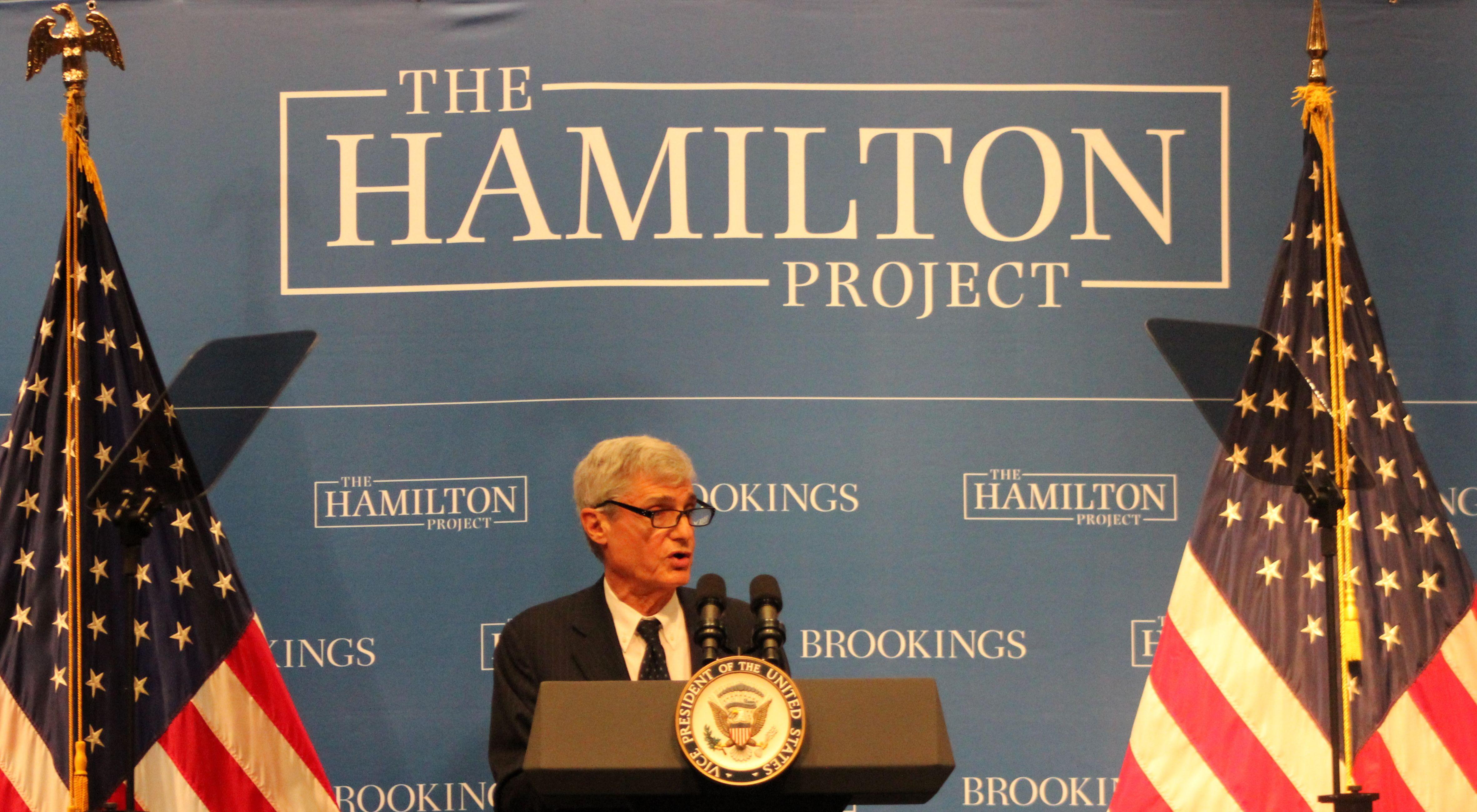 Bob Rubin National Press Club Hamilton Project 2015