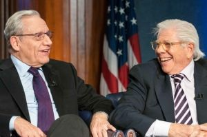 Bob Woodward and Carl Bernstein (Noel St. John, National Press Club, 10-14-2014)