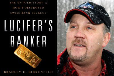 "Bradley Birkenfeld, author of ""Lucifer's Banker"""