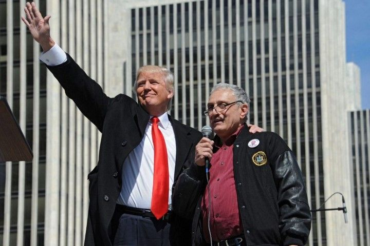 Carl Paladino Donald Trump (Photo by Lori Van Buren, Rochester Times Union)