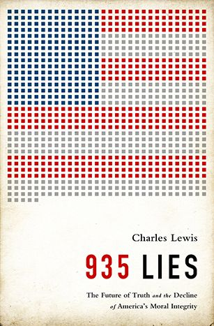 "Charles Lewis ""935 Lies"" Cover"