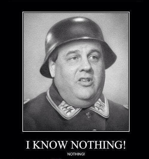 Chris Christie as Sgt. Schultz