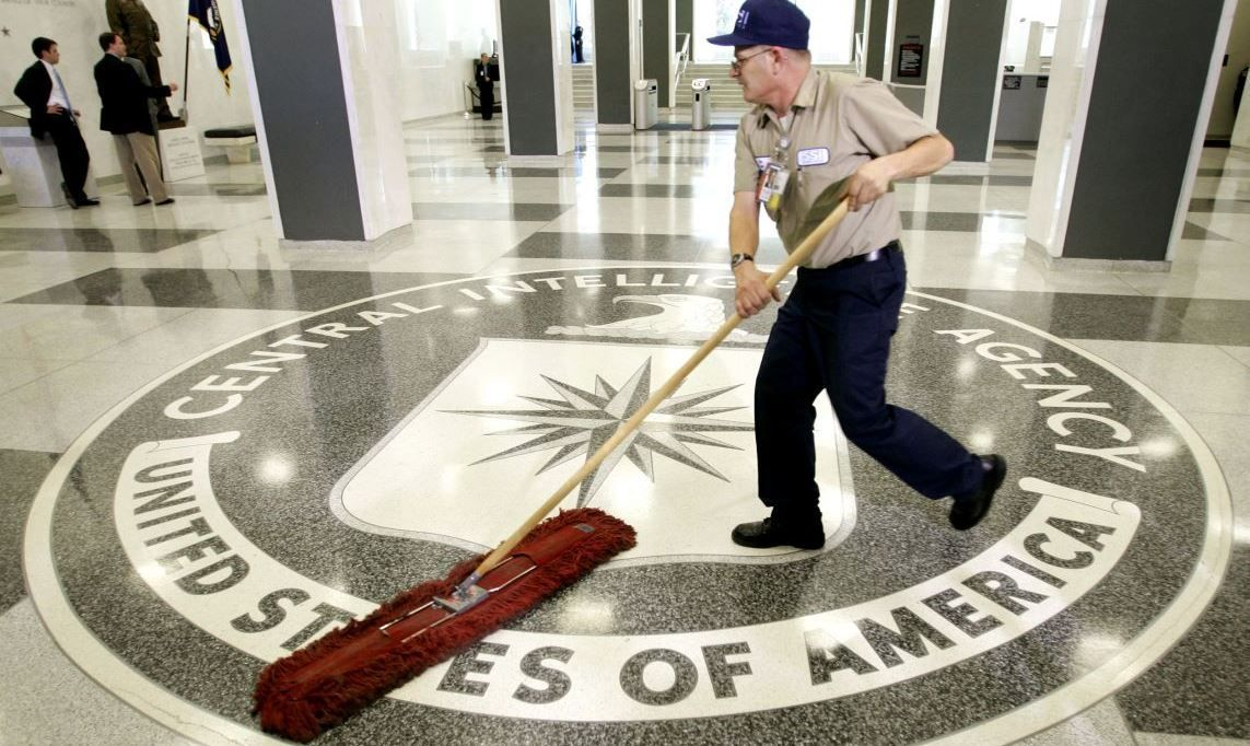 CIA Floor Sweeping