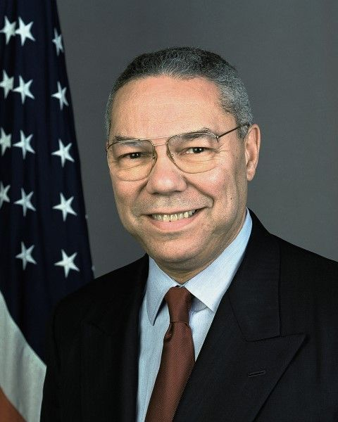 Colin Powell Secretary of State official photo