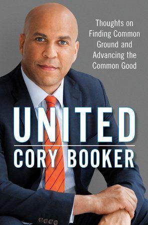 Cory Booker Memoir cover
