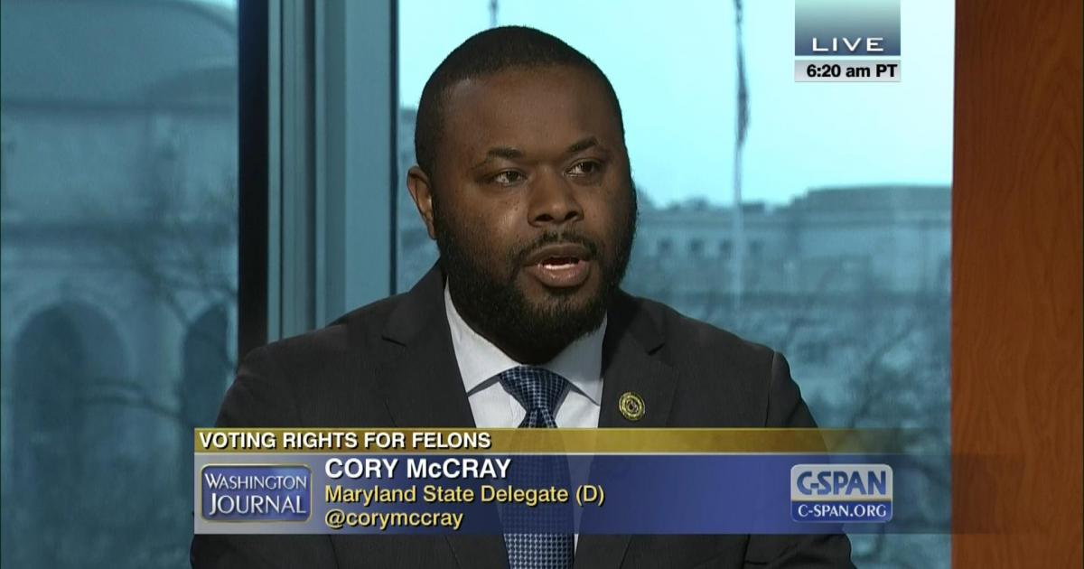 Cory McCray on C-SPAN