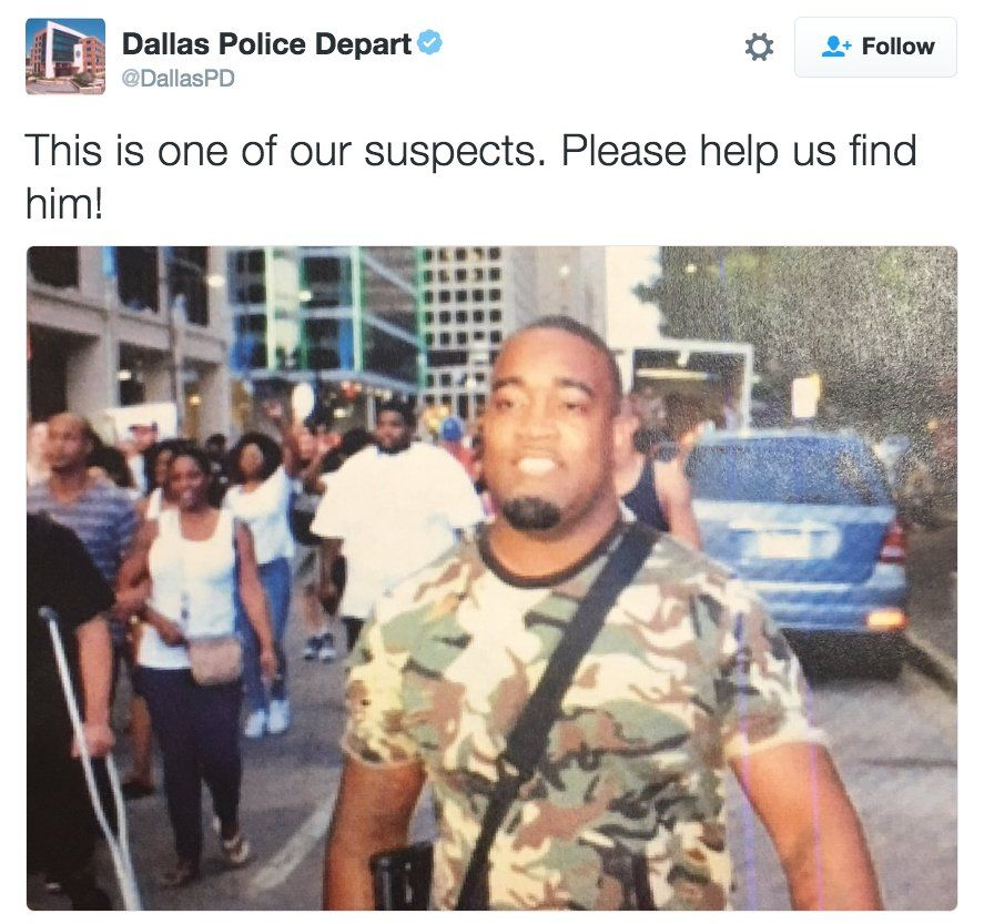 Dallas shooting suspect