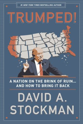 David Stockman Trumped book cover