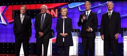 Democratic Debate Oct. 13, 2015