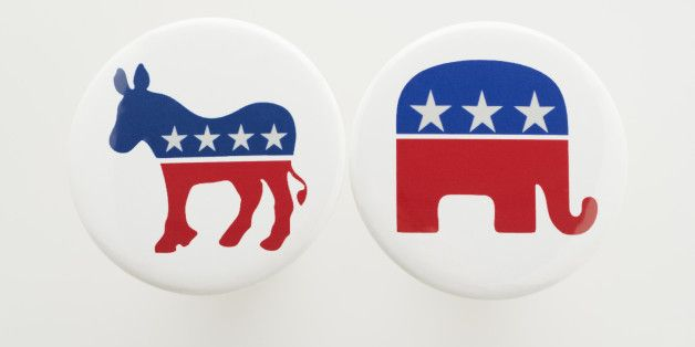 Democratic-Republican Campagne logos