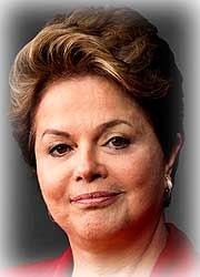 Dilma Rousseff file photo