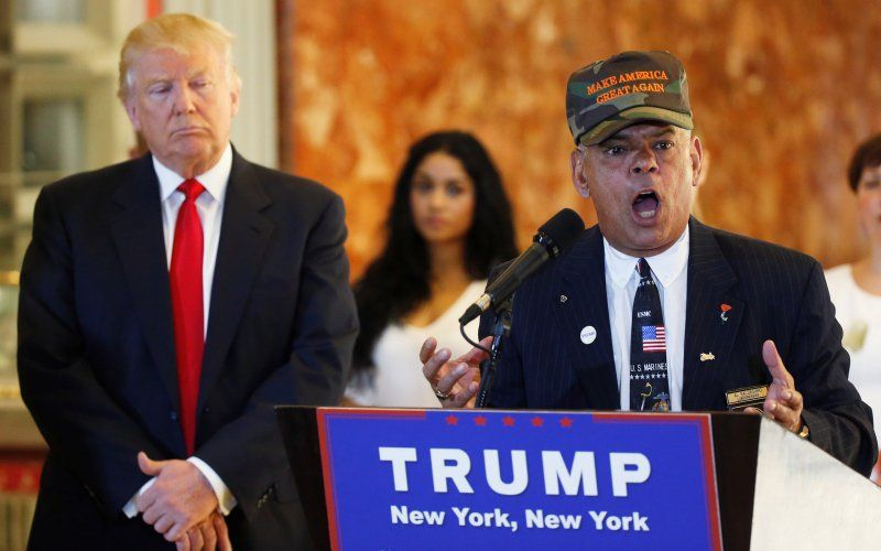Donald Trump and Al Baldasaro