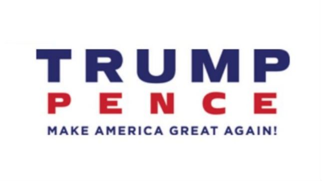 Donald Trump and Mike Pence new logo