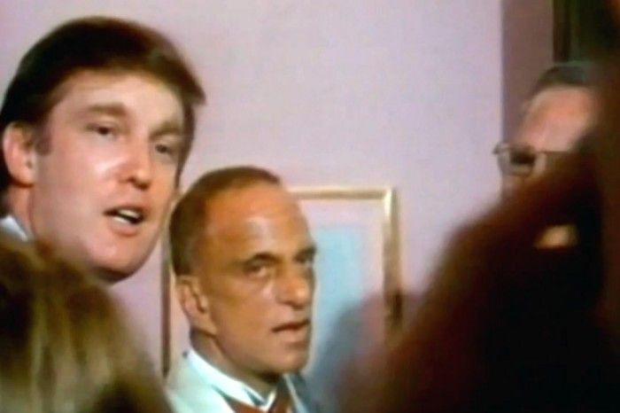 Donald Trump and Roy Cohn