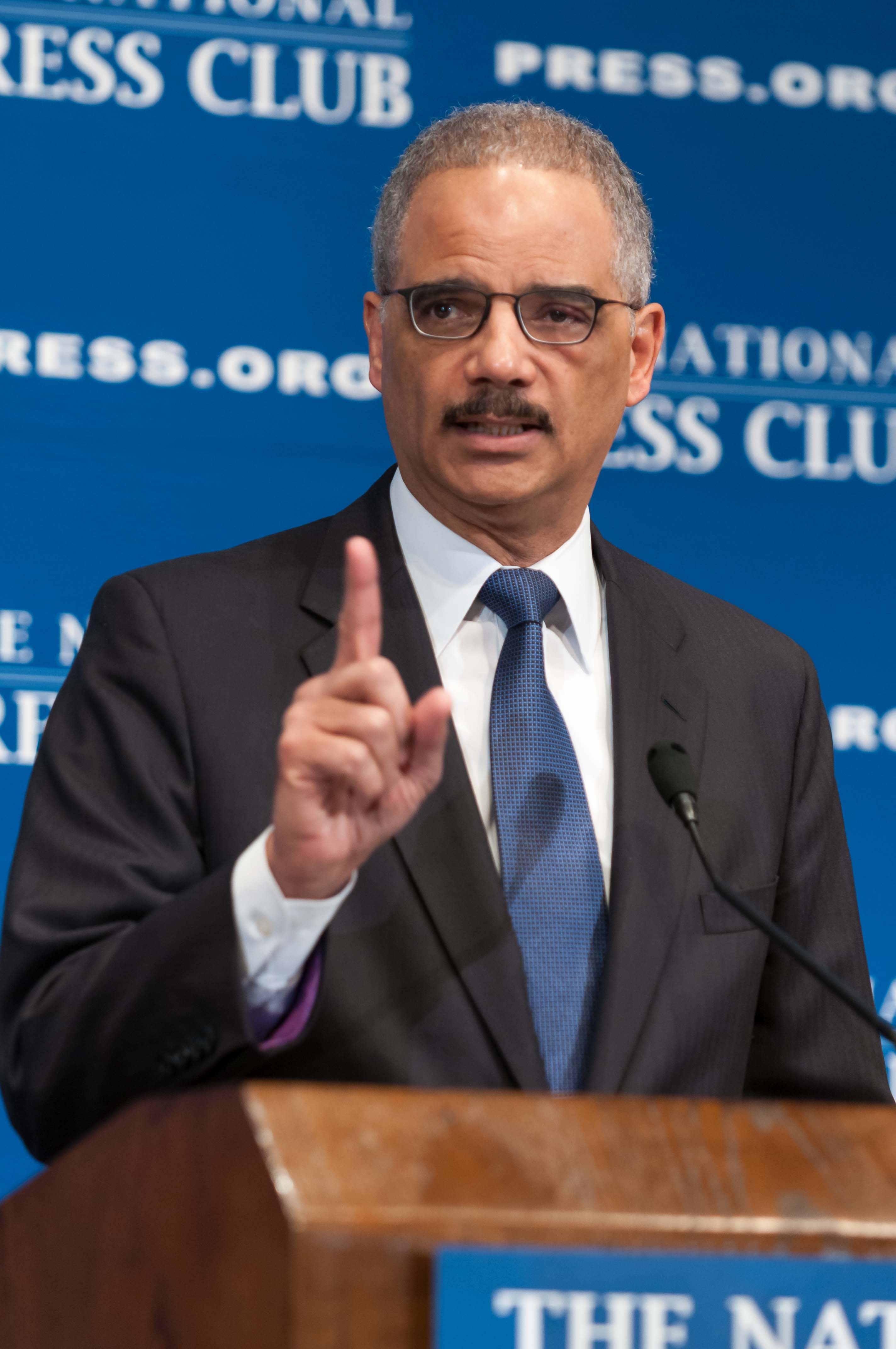 Eric Holder NPC Noel St. John 2 Feb. 17, 2015