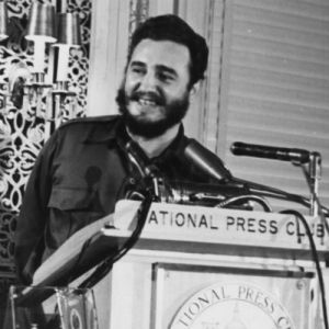 Fidel Castro 1959 at National Press Club