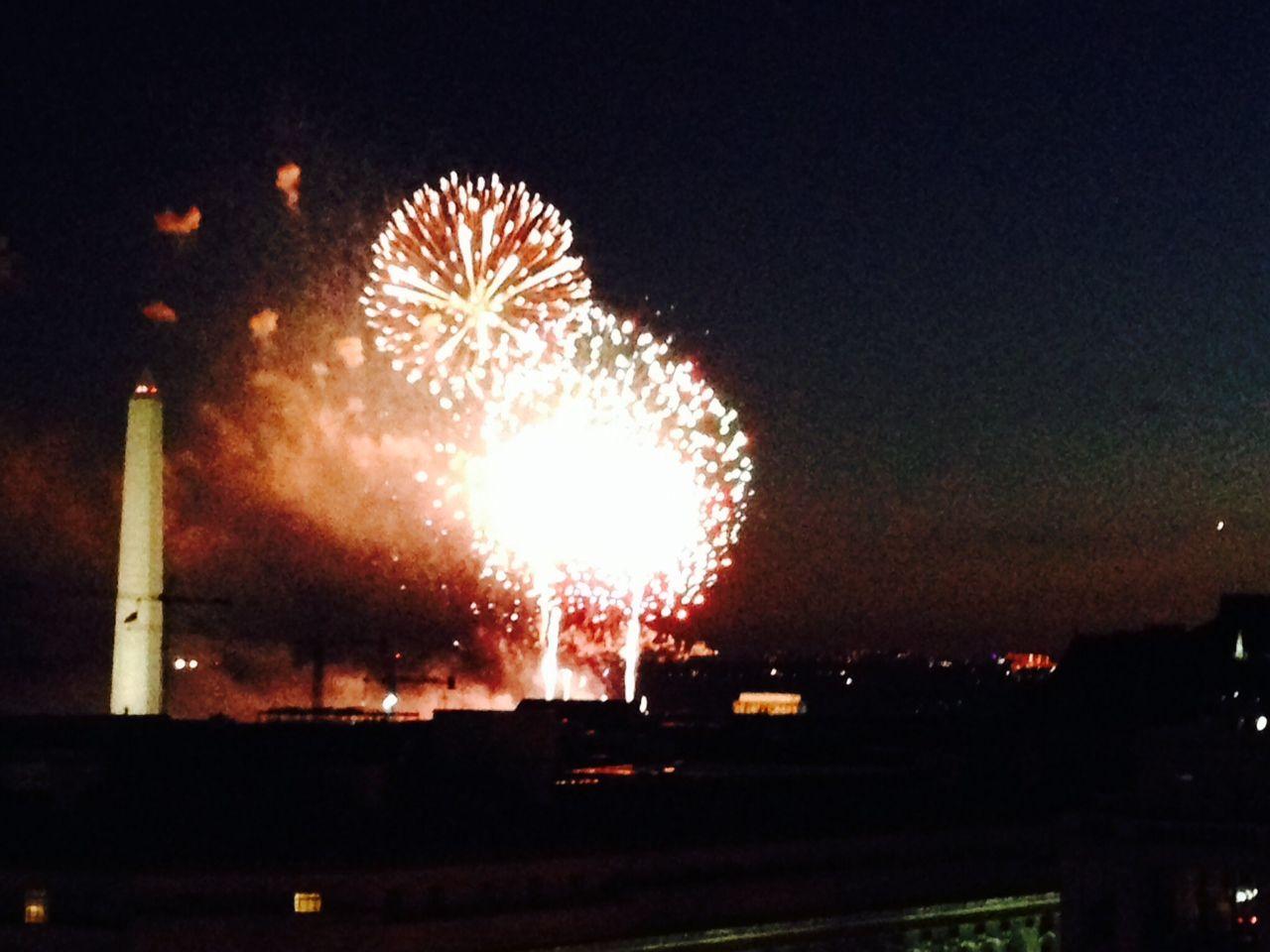 Fireworks July 4, 2014