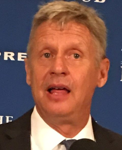 Gary Johnson National Press Club