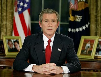 George W. Bush Announces Iraqi Freedom March 19, 2003