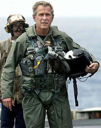 George W. Bush U.S. Lincoln 2003