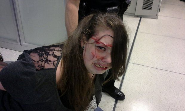 Hannah Cohen arrested in Memphis by TSA June 30, 2015 (Shirley Cohen photo)