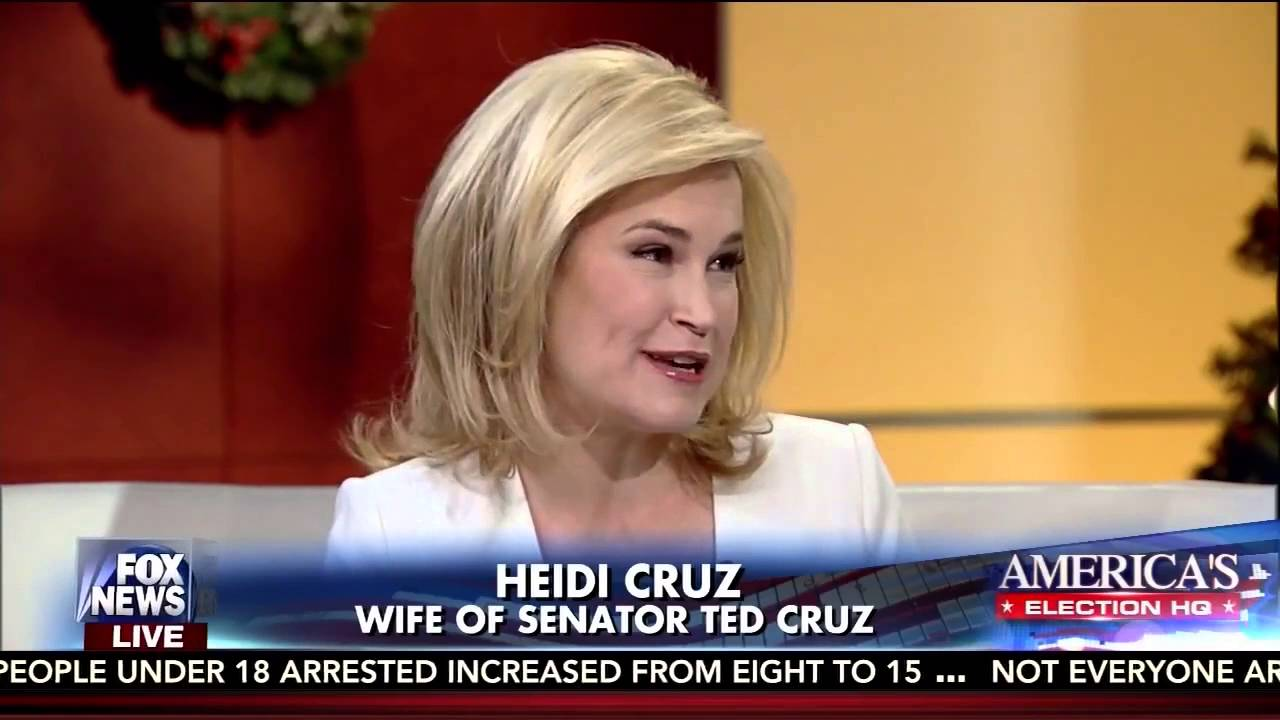 Heidi Cruz (Screenshot via Fox News)