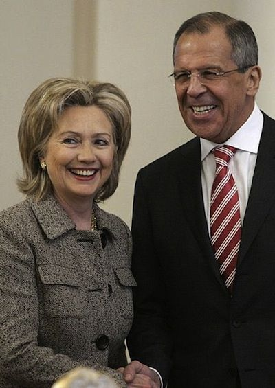 Hillary Clinton and Sergei Lavrov 2010 State Department photo
