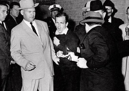 Jack Ruby Shoots Oswald